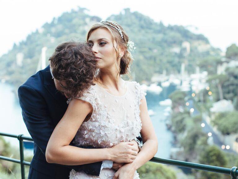 Aly Michalka's wedding day