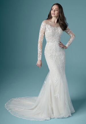 Maggie Sottero CHEVELLE Sheath Wedding Dress