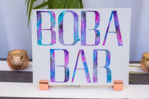 Bright Boba Bar Sign