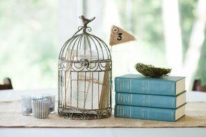 Vintage Birdcage Centerpiece
