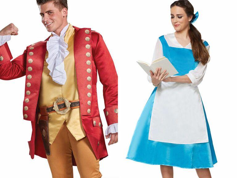 Disney couple costume ideas Beauty and the Beast