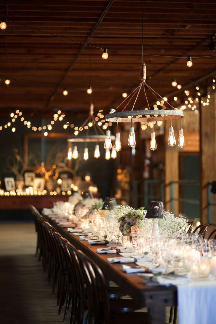 Romantic Atwood Ranch Barn Reception