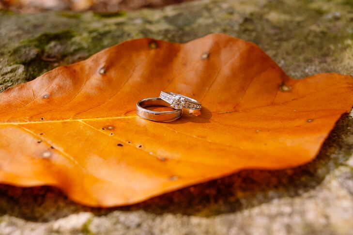 Daniel had been planning to propose for months before he popped the question, working with a local jeweler to create a custom solitaire engagement Sarah and a special necklace for her daughter Bailey.