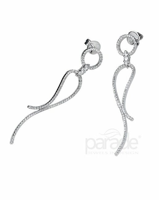 Parade Designs E1574A from the Lumiere Collection Wedding Earrings photo