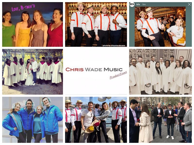 Chris Wade Music Productions - A Cappella Group - New York City, NY
