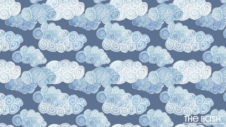 Baby Shower Zoom Background