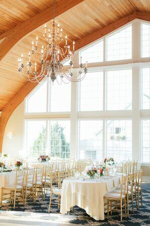Modern, Rustic Reception at Bonnet Island Estate in Manahawkin, New Jersey