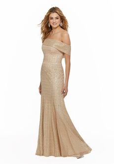 Morilee by Madeline Gardner Bridesmaids 21639 Off the Shoulder Bridesmaid Dress