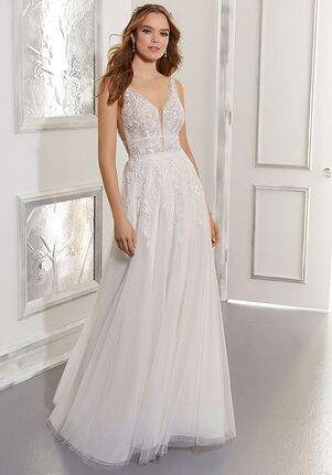 Morilee by Madeline Gardner/Blu Angela A-Line Wedding Dress
