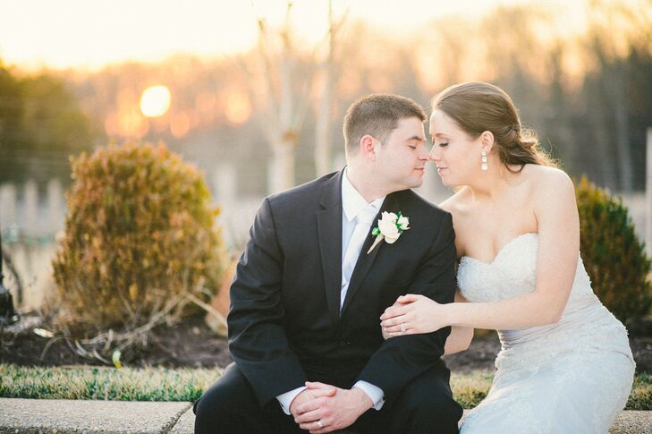 Lauren Turner (24 and a banquet and catering sales manager for Fauquier Springs Country Club) and Justin Bricklen (31 and an United States Air Force d