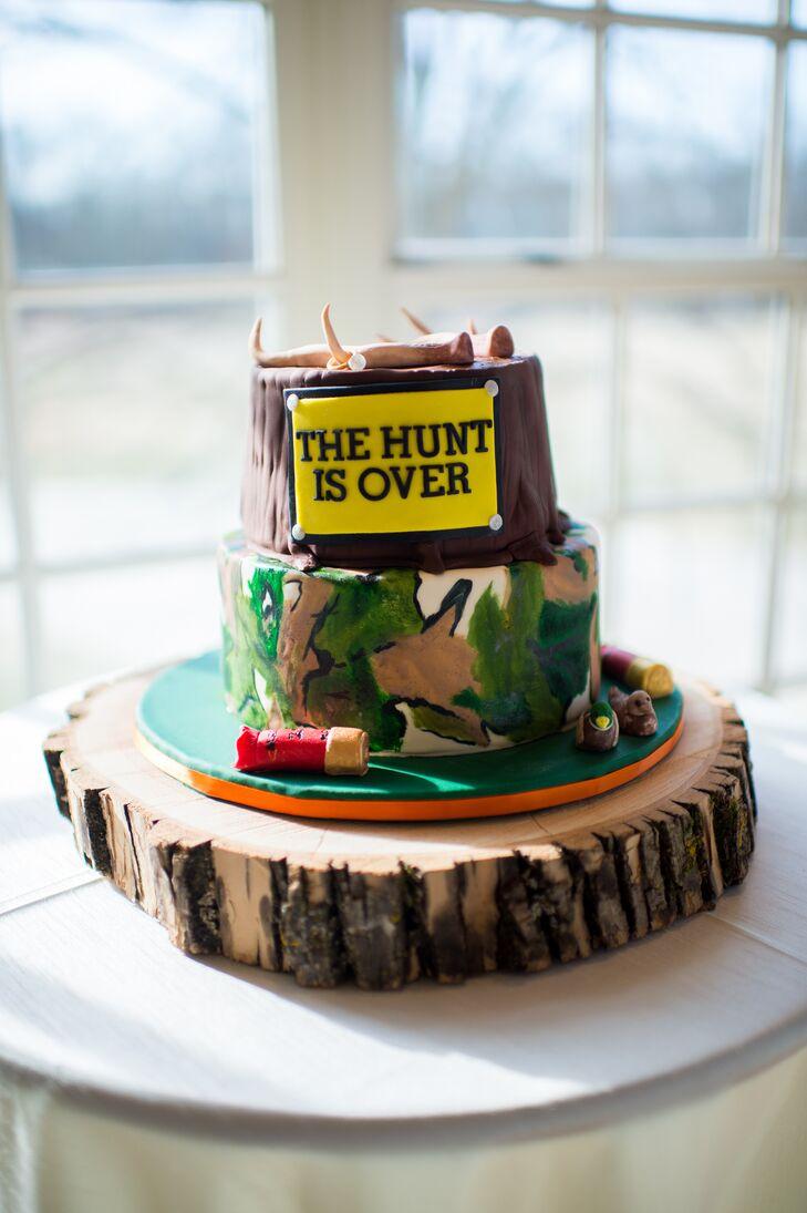 Hunting Inspired Groom's Cake