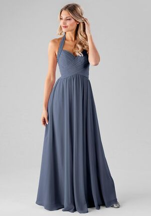 Kennedy Blue Ginger Halter Bridesmaid Dress