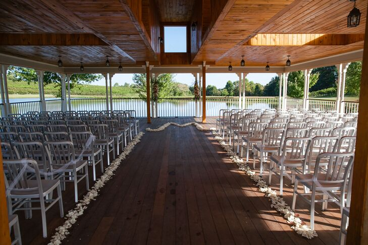 Frogtown Cellars Outdoor Ceremony