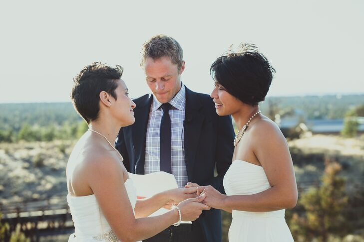 Officiant Marrying Jackie and Sarah