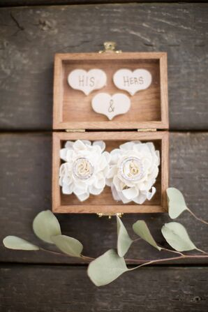 Simple Wooden Wedding Ring Box
