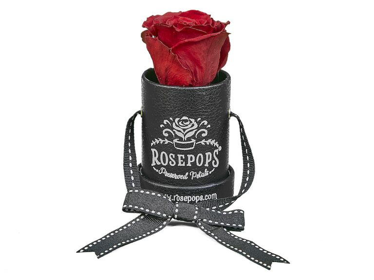 Preserved rose bachelorette gift for the bride