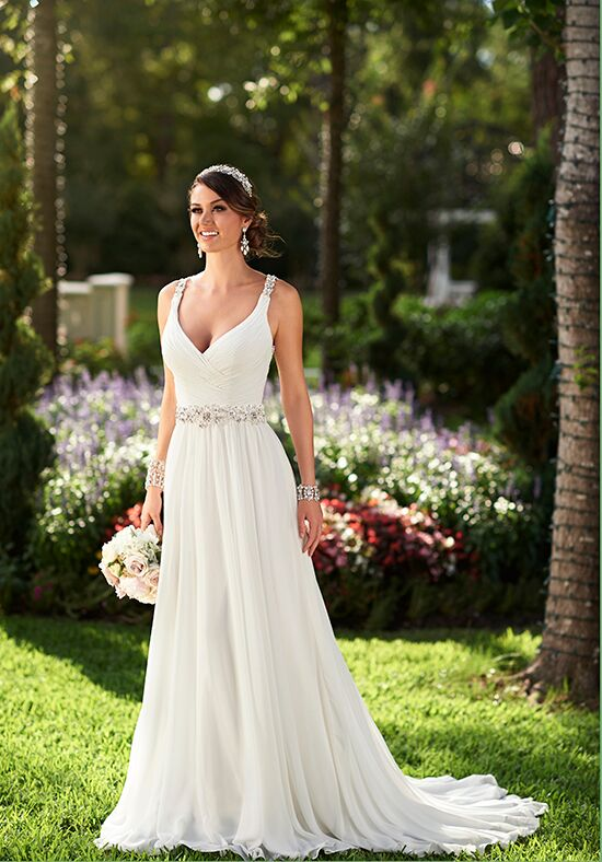 Stella Chiffon Wedding Dress