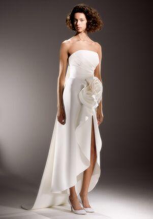 Viktor&Rolf Mariage DRAPED ROSE COLUMN A-Line Wedding Dress