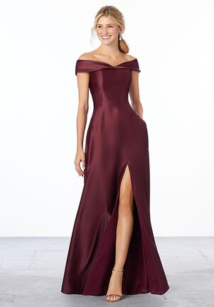 Morilee by Madeline Gardner Bridesmaids 21663 - Morilee by Madeline Gardner Bridesmaids Off the Shoulder Bridesmaid Dress