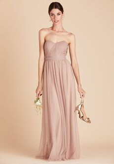 Birdy Grey Christina Convertible Dress in Sandy Taupe Sweetheart Bridesmaid Dress