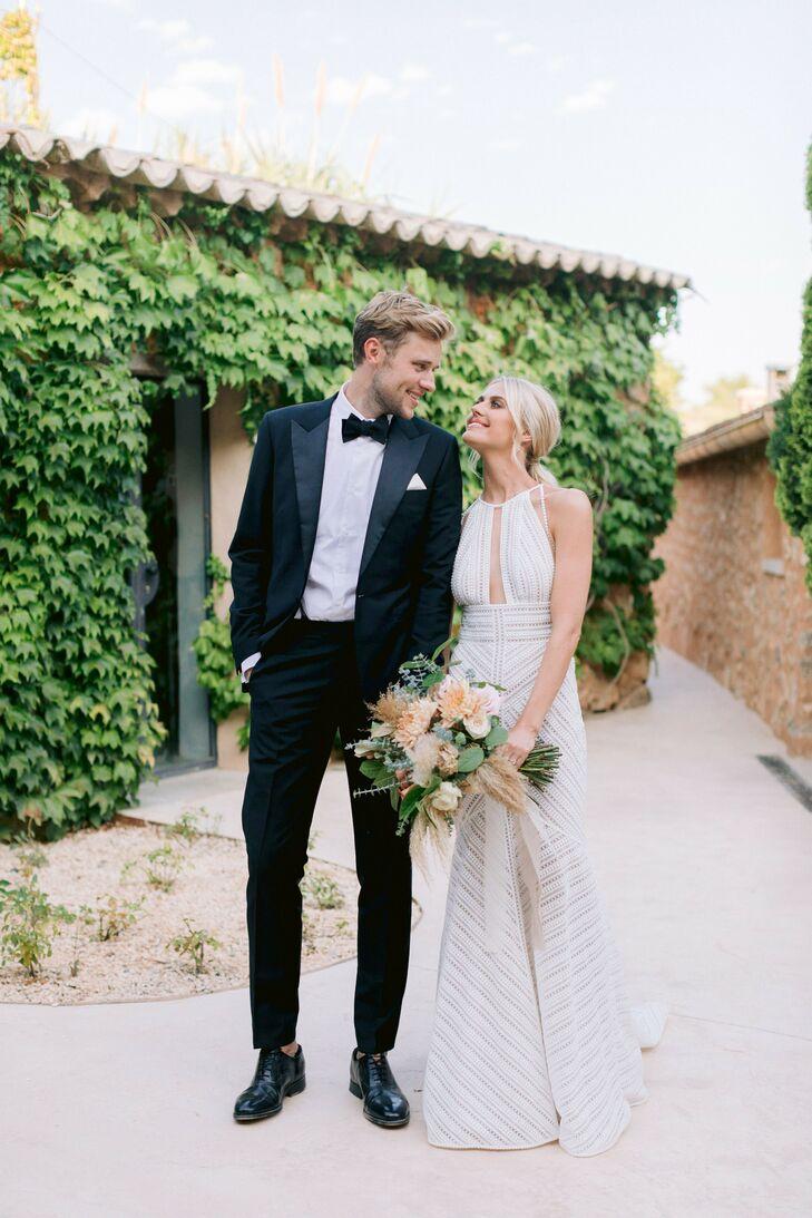 Wedding Portraits at Finca Es Cabas in Mallorca, Spain