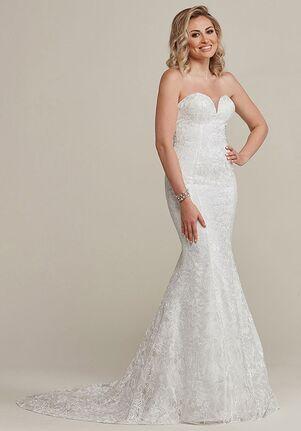Avery Austin Paige Mermaid Wedding Dress