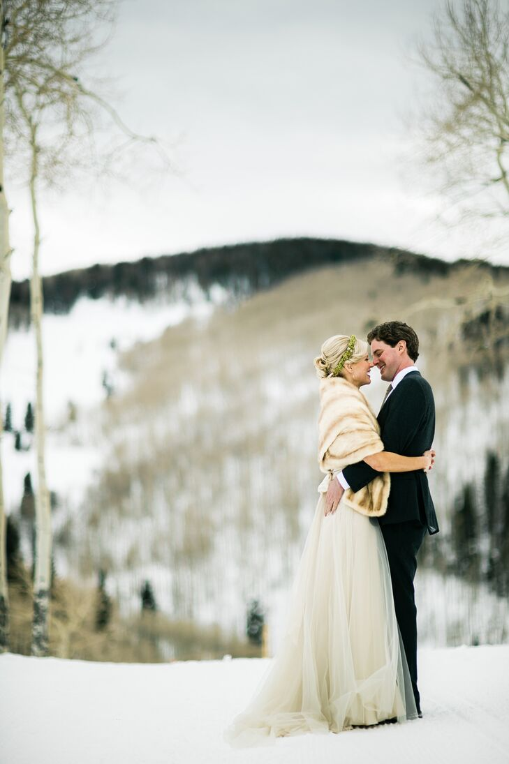 This small, rustic yet luxurious, ski-in-ski-out mountaintop resort was perfect for Suzi Molesta (32 and a nurse) and Kevin McInerney's (31 and an ent