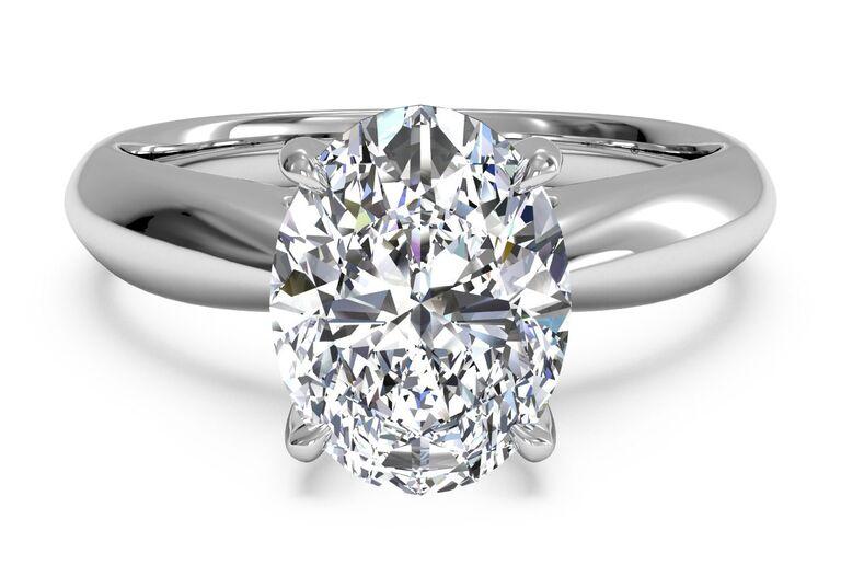 ritani oval engagement ring