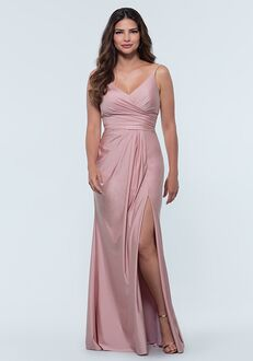 Kleinfeld Bridesmaid KL-200131 V-Neck Bridesmaid Dress