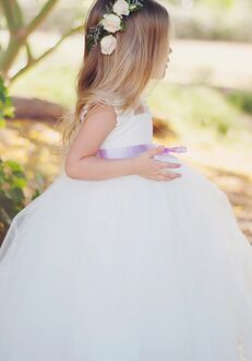 FATTIEPIE elsa lace Flower Girl Dress