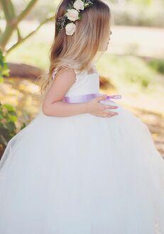 FATTIEPIE elsa lace Flower Girl Dress