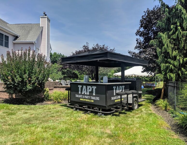 Tailgate Amp Party Trailers Party Tent Rentals Morristown
