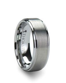Mens Tungsten Wedding Bands W241-RSC Tungsten Wedding Ring