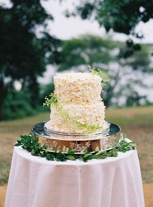 Coconut and Vanilla Bean Wedding Cake