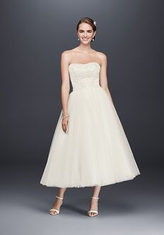 David's Bridal WG3876 A-Line Wedding Dress
