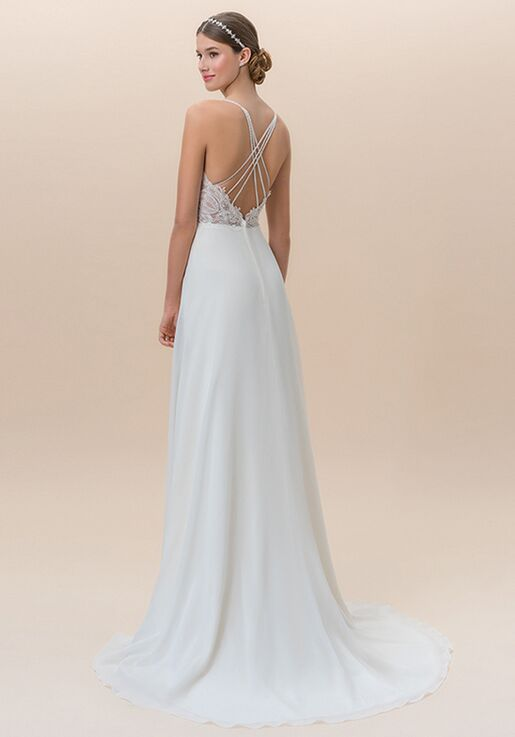 Moonlight Tango T825A A-Line Wedding Dress