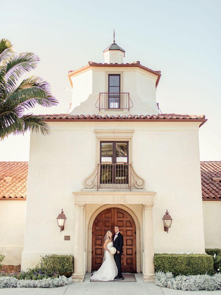 California wedding venue in Palos Verdes Estates, California.