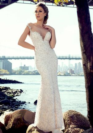 Stephen Yearick KSY81 Sheath Wedding Dress