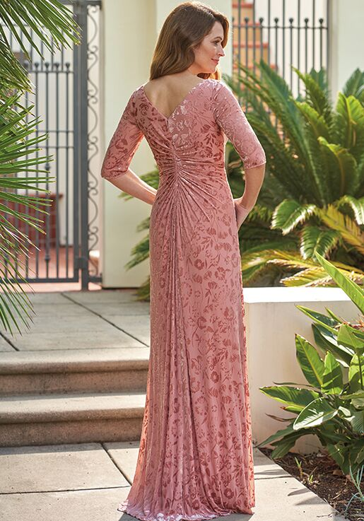 Jade Mother of the Bride by Jasmine J205054U Pink Mother Of The Bride Dress