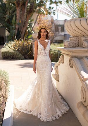 Moonlight Couture H1448 Mermaid Wedding Dress