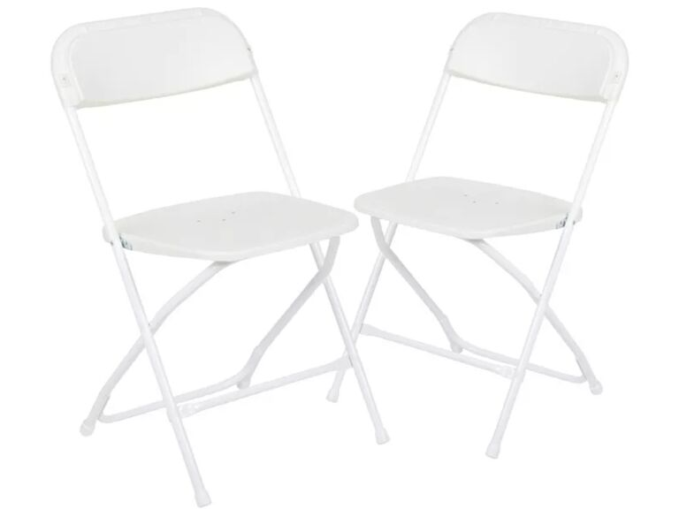 Backyard wedding ideas chairs