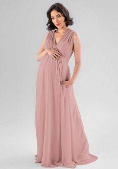 Kennedy Blue Misty V-Neck Bridesmaid Dress