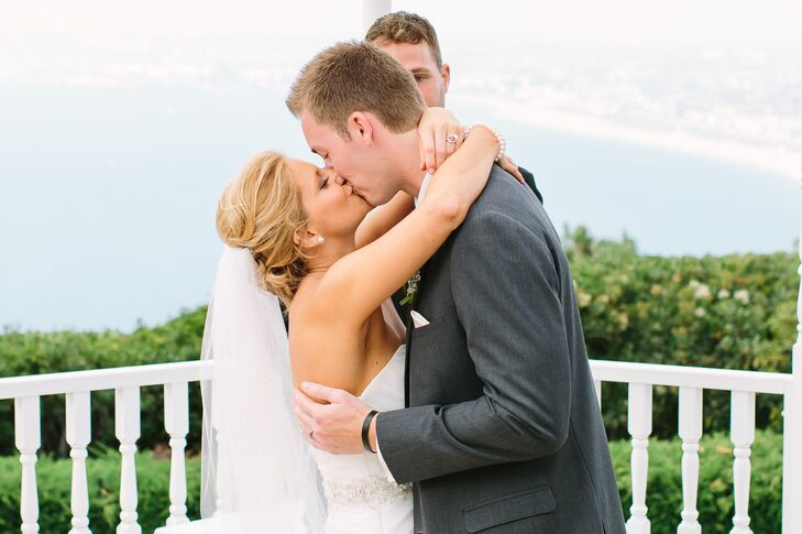 Brittney and Jeff, First Kiss