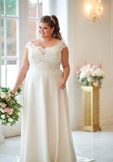 Stella York 6635(plus-size) A-Line Wedding Dress