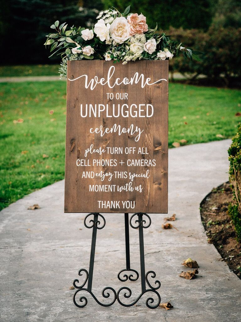 19 Unique Wedding Signs You Can Shop Right Now