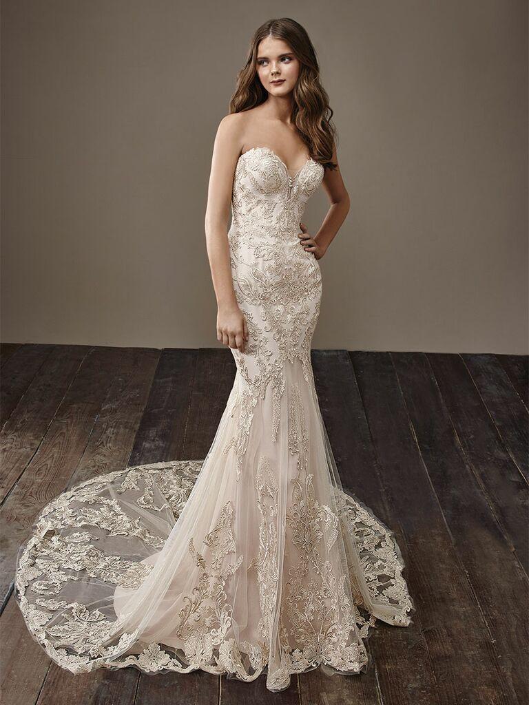 Badgley Mischka Fall 2018 Collection Bridal Fashion Week