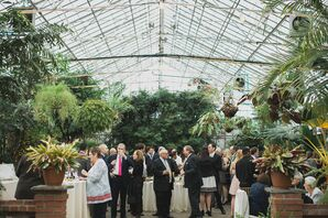 Cocktail Hour in a Philadelphia Greenhouse