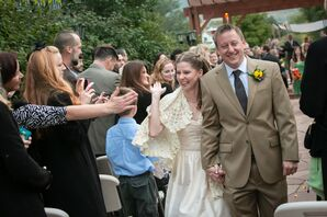 Jenny and Mark Recessional in Golden, Colorado