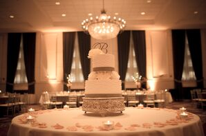 The Antique Inspired 2-Tier Wedding Cake
