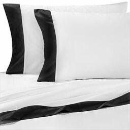 kate spade new york grace standard pillowcases in black set of 2